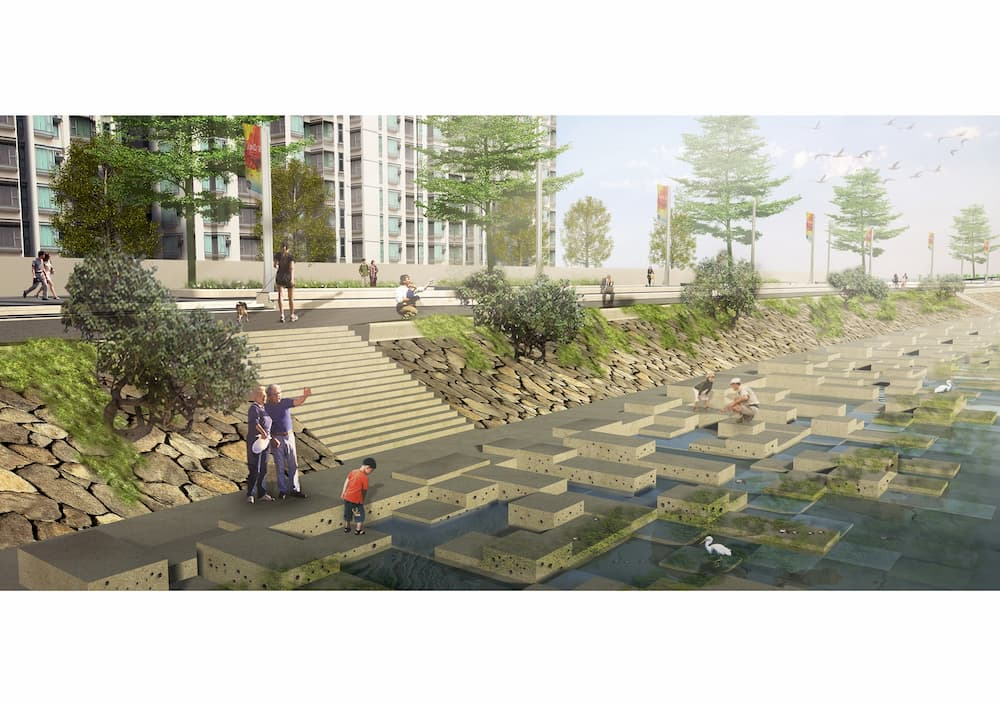 Tung Chung East – Proposed Seawall and Eco-shoreline